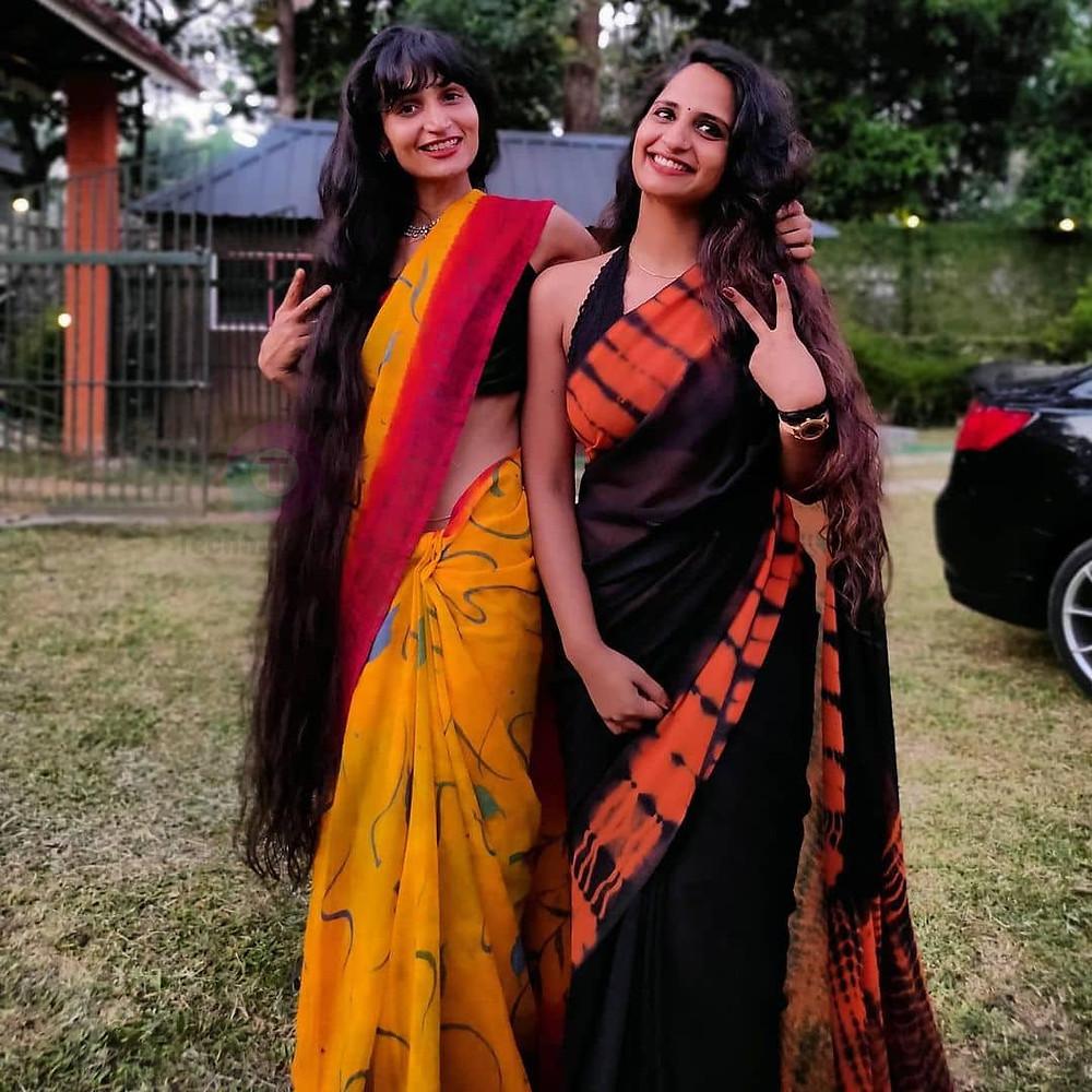 thinkal bhal sister name Dimpal