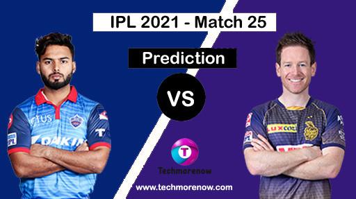 DC Vs KKR Dream11 Prediction