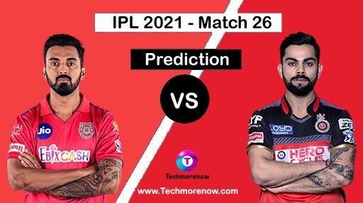 Pbks Vs rcb Dream11 Prediction
