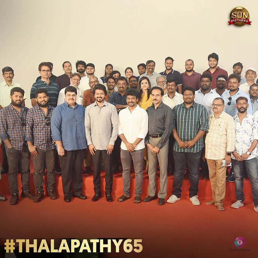 Thalapathy 65 Heroine