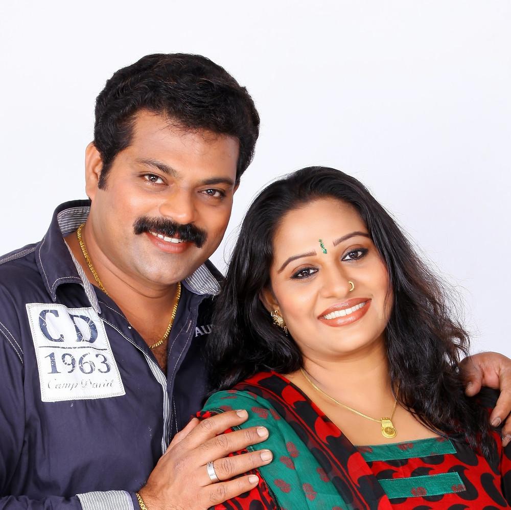 Manoj Nair Wife Beena Antony Husband