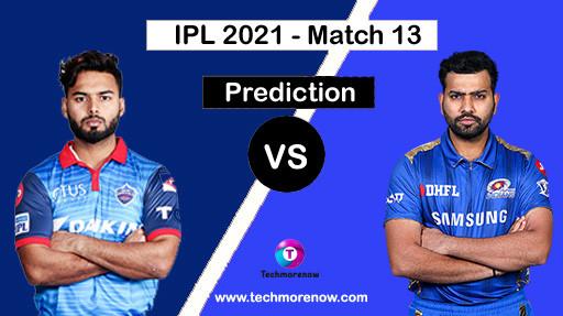 DC Vs MI Dream11 Prediction