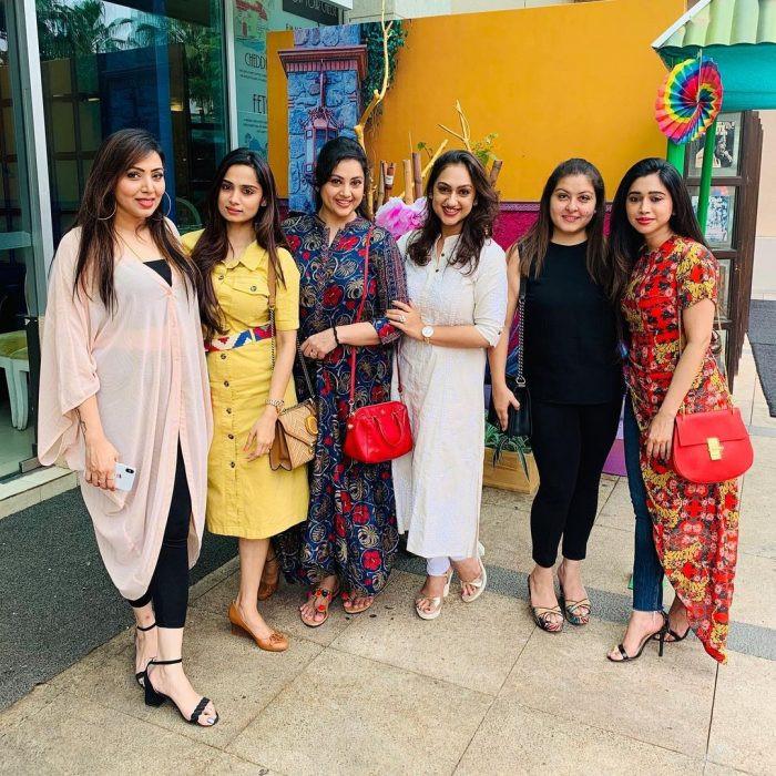 Renuka Praveen Friends and Family