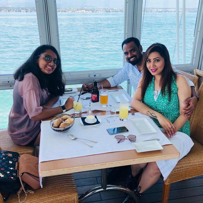 Renuka Praveen Family
