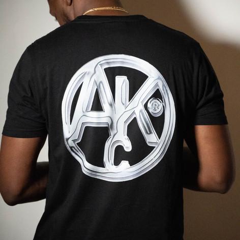 AKC - Black chrome tee