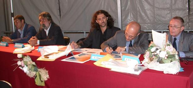 con Peppe Vessicchio e Luciano Girardengo