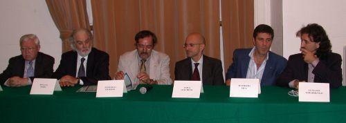 con Renato Serio e Maurizio Pica, nella Giuria del Premio Lavagnino