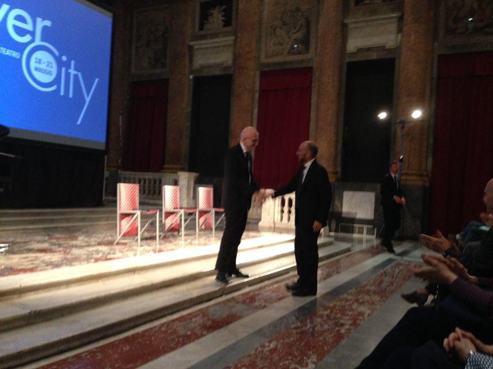 con Giuseppe Tornatore