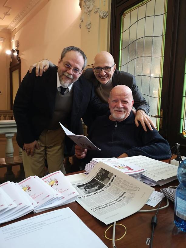 con Pier Narciso Masi e Francesco Monopoli