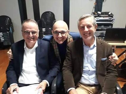 con Massimiliano Pani e Gianni Gioanola