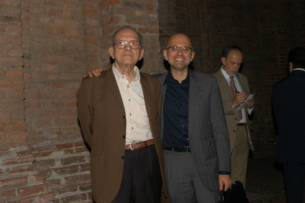 con Damiano Damiani