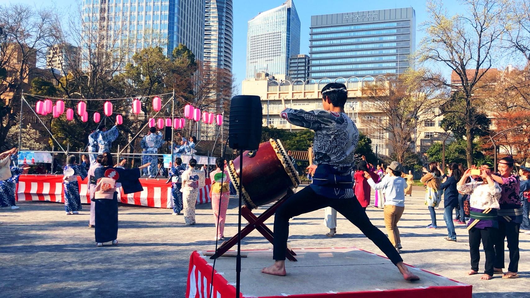 2018/03/25 芝公園盆踊り大会_180325_0025