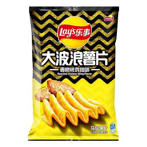 Lay's乐事大波浪香脆烤鸡翅味 ( 40g )