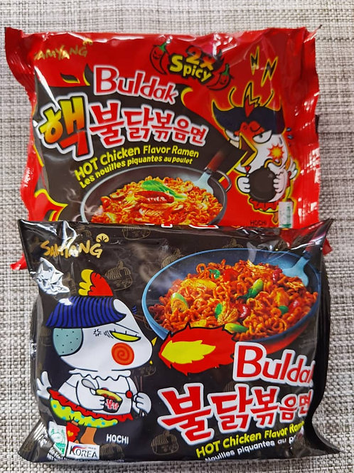 Samyang Ramen Set (Hot Chicken, 2X Hot Chicken)
