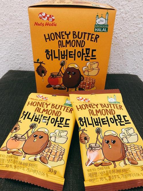 Nut Holic Honey Butter Almond 30g