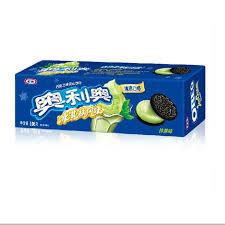 卡夫奥利奥巧克力夹心饼干 - 冰淇淋风味 - 抹茶 (97g)