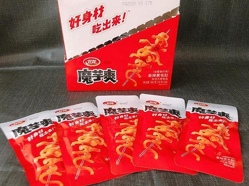 卫龙魔芋爽香辣素毛肚 (20 pack/box )
