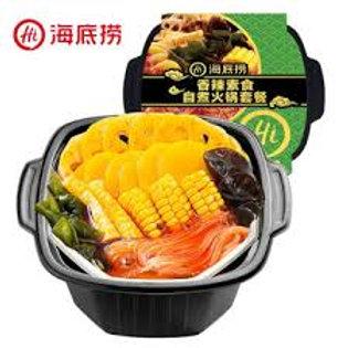 海底捞香辣素食自煮火锅套餐 Hai Di Lao Spicy Vegetarian Hot Pot ( 410g )