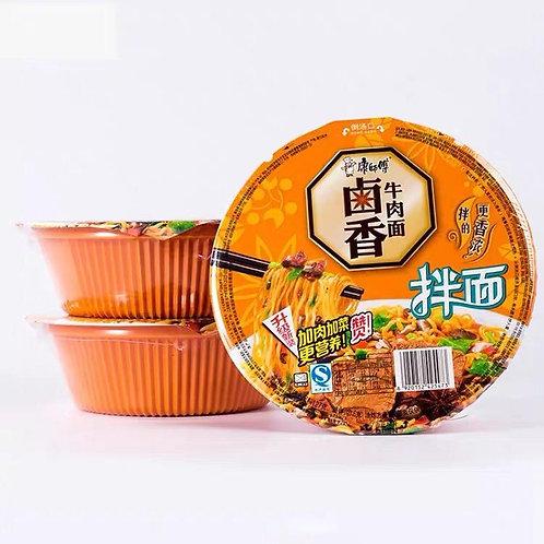 康师傅卤香牛肉拌面 Kang Shi Fu Braised Beef Noodle