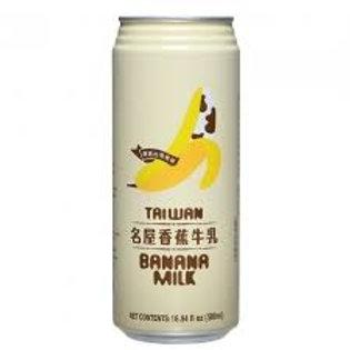 名屋香蕉牛乳 Taiwan Banana Milk (500ml)