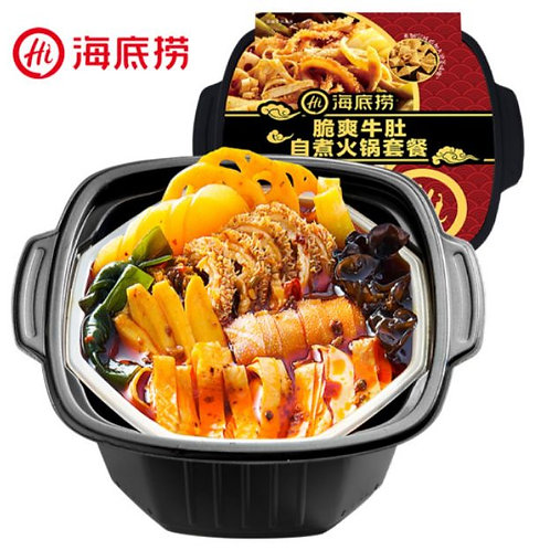 海底捞 脆爽牛肚自煮火锅套餐 Hai Di Lao Crispy Beef Belly Boiled Hot Pot (435g)