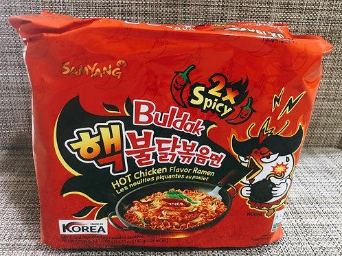 Ramen Multipack Hot Chicken Double Spicy (Samyang)140g x 5