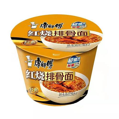 康师傅红烧排骨面 KangShiFu Braised Pork Ribs Noodle