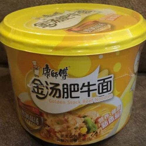 康师傅金汤肥牛面 Kang Shi Fu Golden Stock Beef Noodle