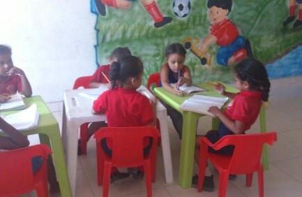 Niños/as en la escuela