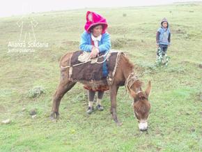 Educando entre los quechuas