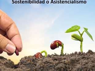 Sostenibilidad o Asistencialismo