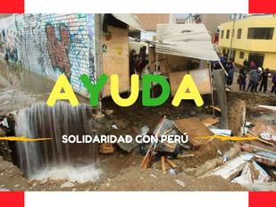Situación de emergencia en Perú