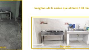El comedor social de Riohacha mejora sus instalaciones