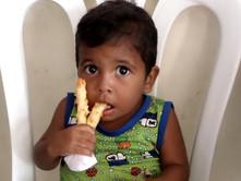 Ángel, beneficiario del comedor social