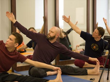 «Медитация в асанах» - семинар в Санкт-Петербурге, 2018 г.