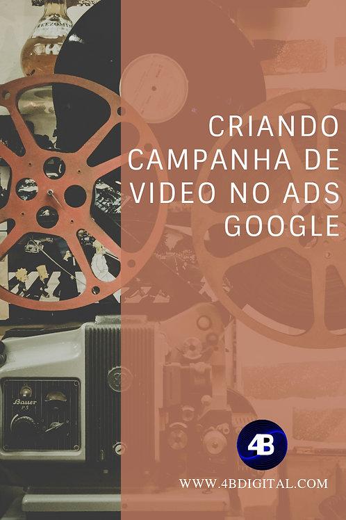 Configurando campanha de vídeo para YouTube