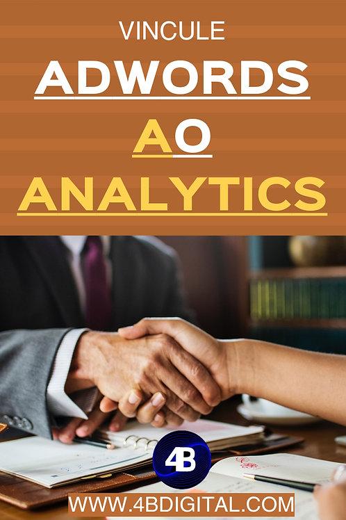 Como vincular conta Ads com Analytics