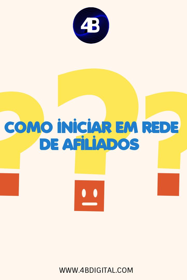 COMO INICIAR EM REDE DE AFILIADOS COMO I