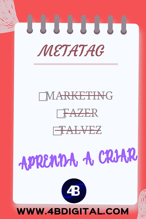 Como criar Metatag de palavras