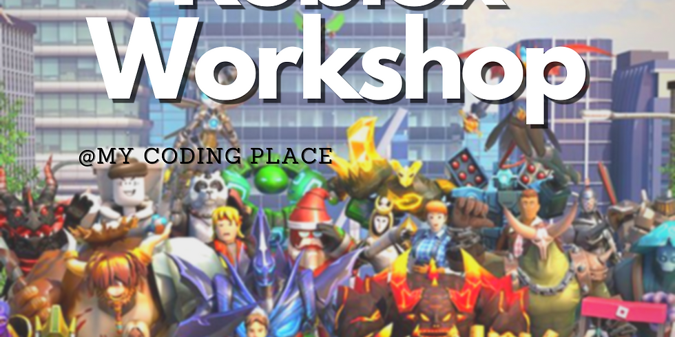April Game Design With Roblox Workshop