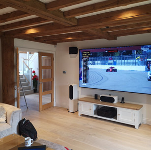TV And Stereo Installation