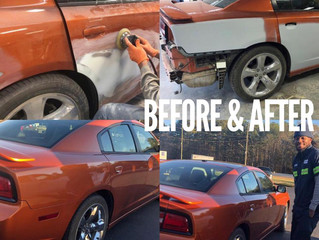 Before & After Repairs for Mr. Long