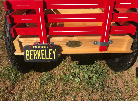 Personalized Swissy drafting cart license plates