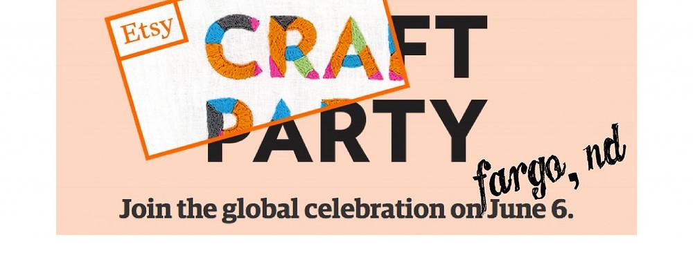 etsy craft party logo