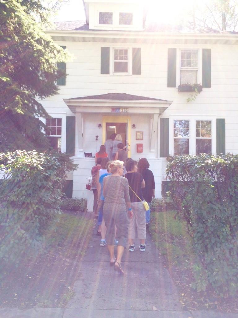 handmade home tour walkway fixed