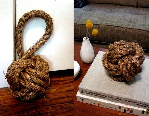 sailors knot doorstop