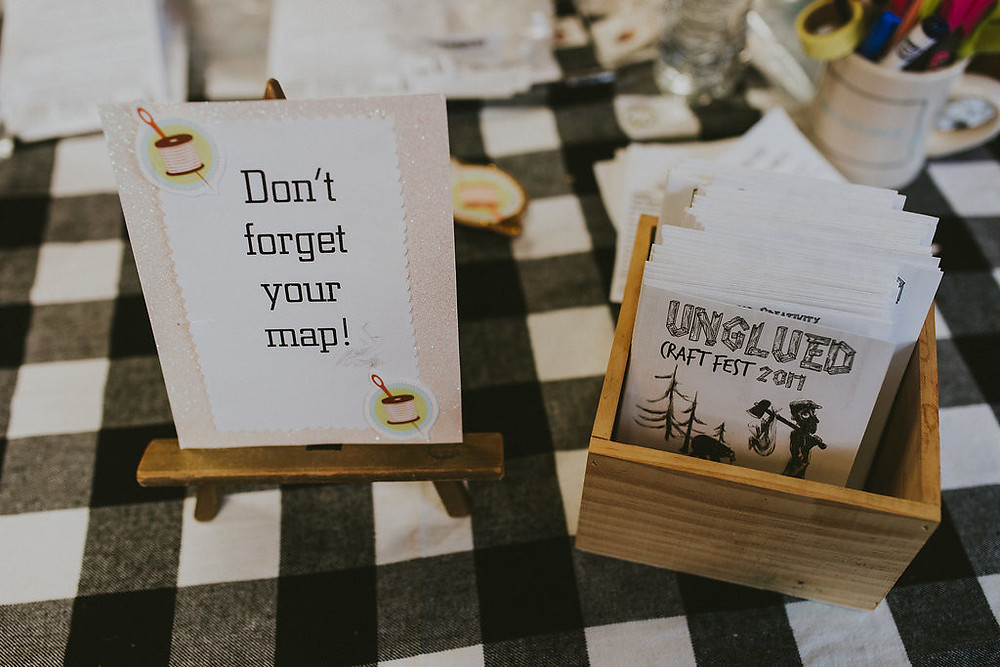 don't forget your map