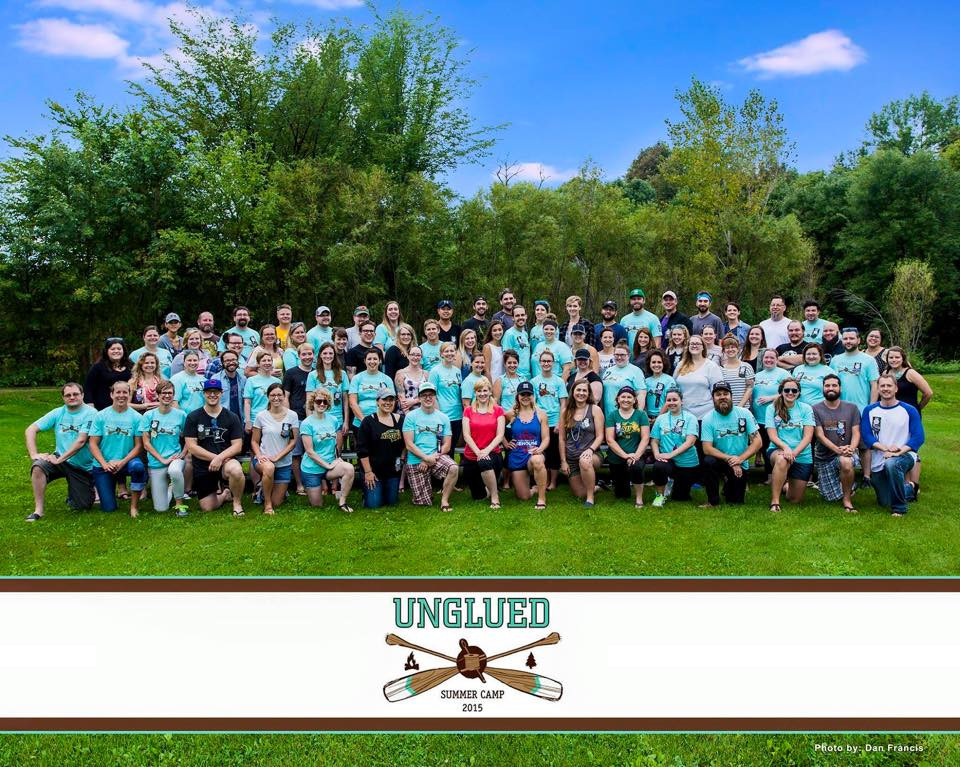 unglued summer camp labor day group