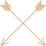 arrows crossing