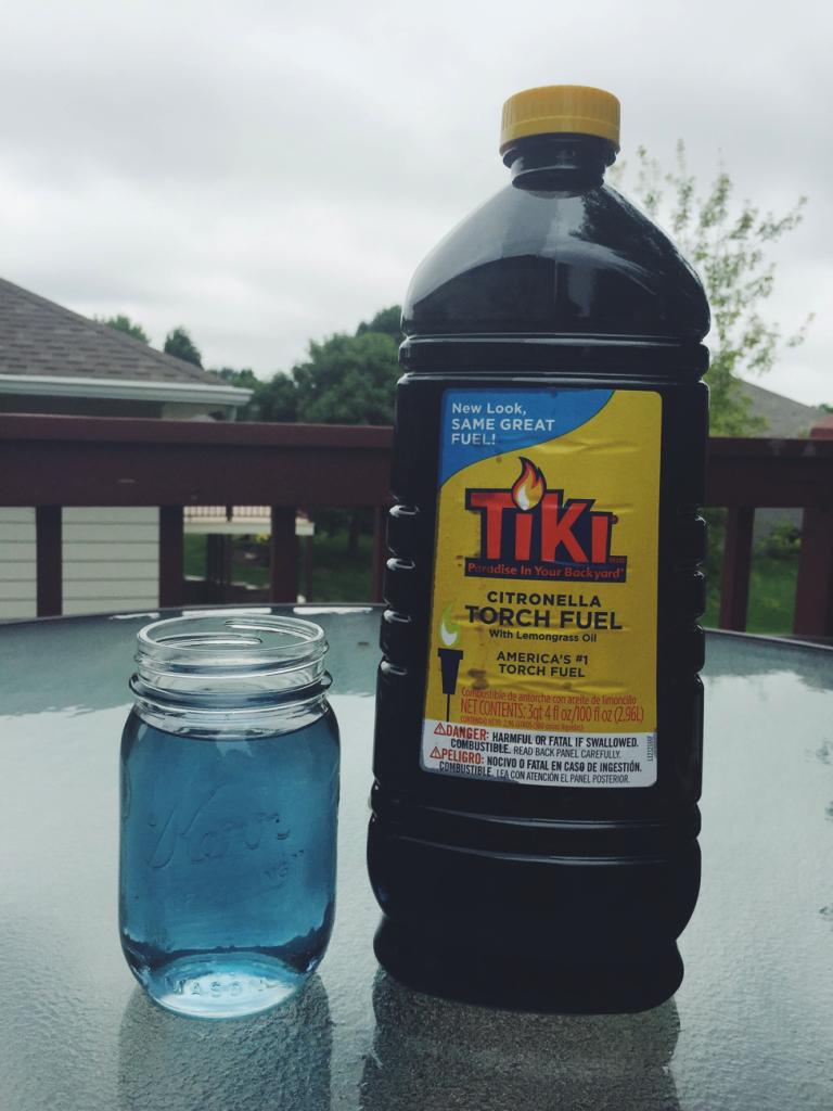jar with tiki